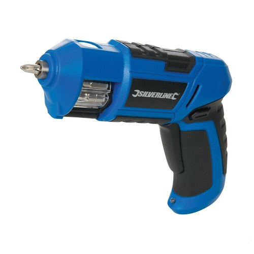 Silverline 811388 Cordless Screwdriver 3.6V 1.5Ah Li-ion Battery & Charger